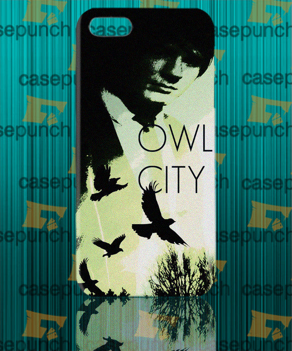 Mz6-owl City Music Group Logo For Iphone 6 6 Plus 5 5s Galaxy S5 S5 Mini S4 & Other Smartphone Hard Back Case Cover