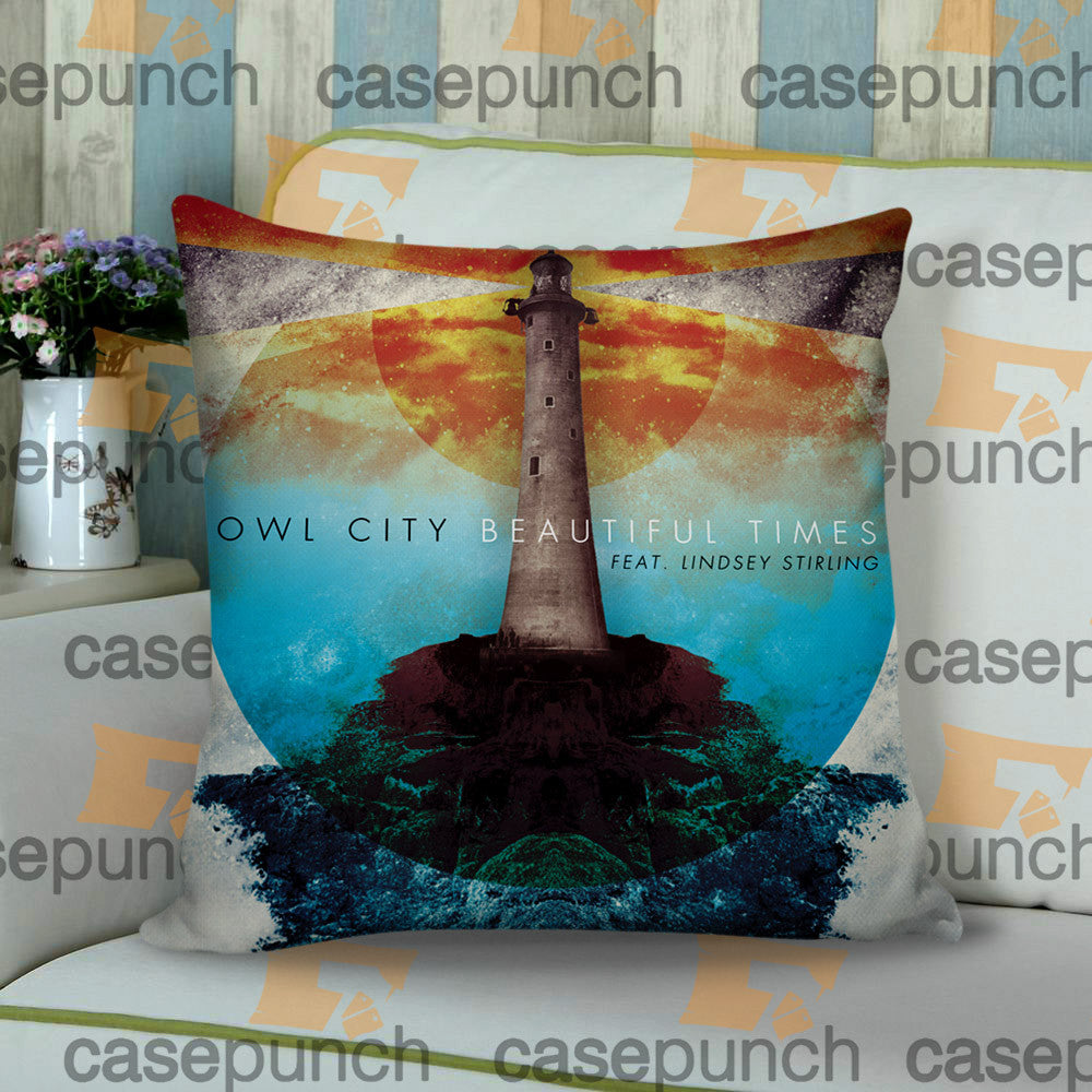 Sr8-owl City Music Group Logo Cushion Pillow Case