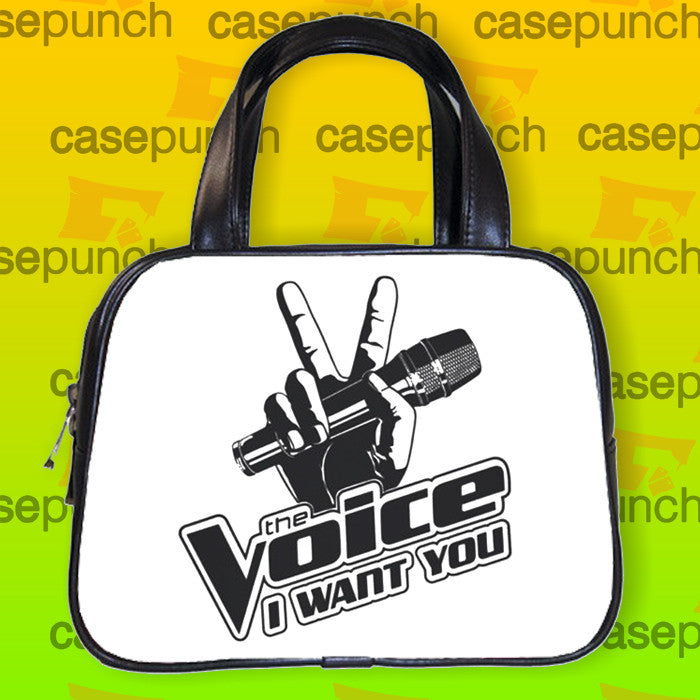 An3-the Voice Tv Show I Want You Logo Handbag Purse Woman Bag Classic