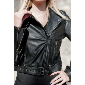 Verbier Biker Women's Leather Jacket