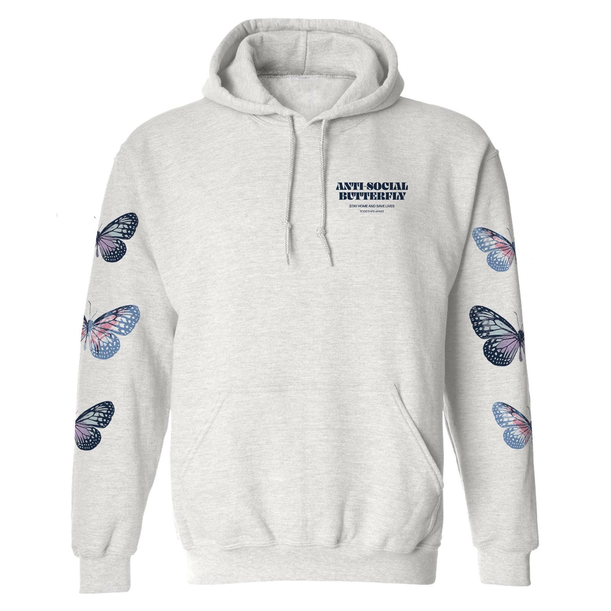 NAT & LIV Anti-Social Butterfly Hoodie