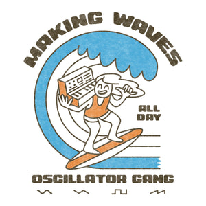 """Oscillator Gang - Making Waves"" Mug"