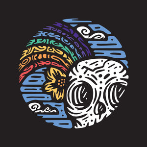 """Skull & Rainbow"" Design 
