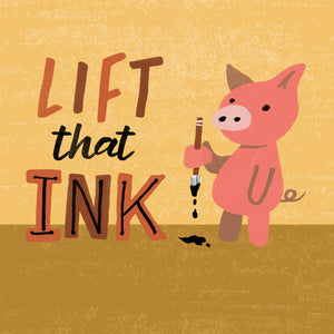 """Ink Lifter"" Free Photoshop Action"