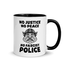 "Load image into Gallery viewer, ""No Fascist Police"" Mug"