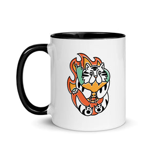 """Some Days You're The Tiger"" Mug"