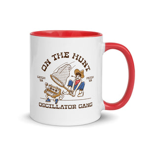 """Oscillator Gang - On The Hunt"" Mug"
