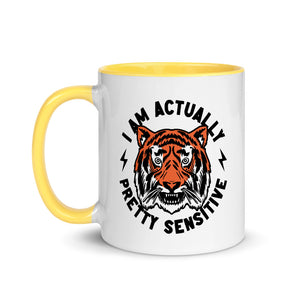 """Sensitive Tiger"" Mug"