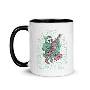 """Follow Your Heart"" Mug"