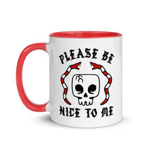 "Load image into Gallery viewer, ""Please Be Nice To Me"" Mug"