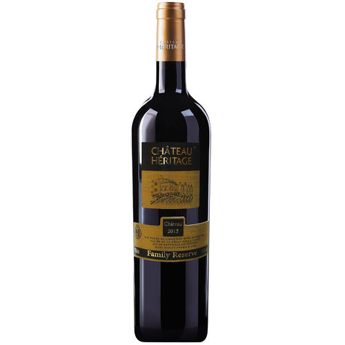 Chateau Heritage Family Reserve, premium wine from Lebanon