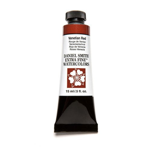 DANIEL SMITH Extra Fine Watercolor 15ml Paint Tube, Venetian Red