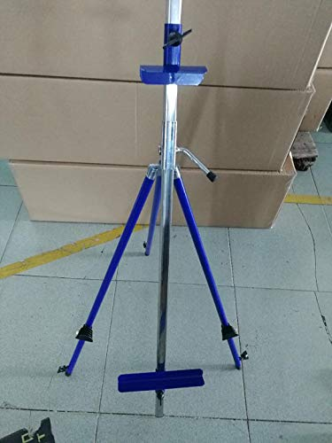 Italian Style Artist Travel Portable Multi Use Easel Goes Flat for Watercolor Painting, Blue Color with Carry Case, Watercolor, Oil, Acrylic, Pastel- Makes a Great Gift!