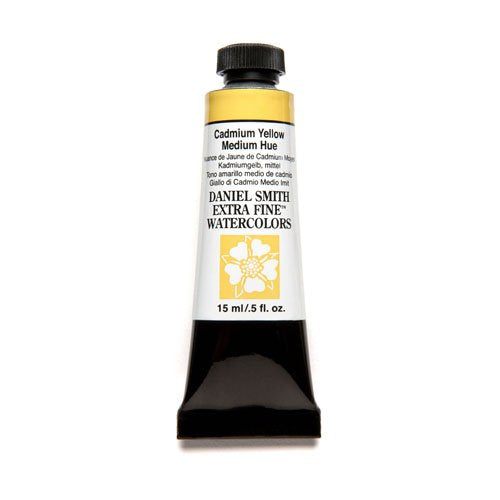DANIEL SMITH Extra Fine Watercolor 15ml Paint Tube, Cadmium Yellow Medium Hue