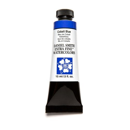 DANIEL SMITH Extra Fine Watercolor 15ml Paint Tube, Cobalt Blue