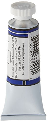 M. Graham 1/2-Ounce Tube Watercolor Paint, Ultramarine Blue