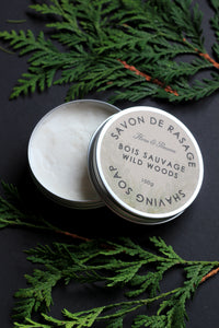 Wild Woods Shaving Soap