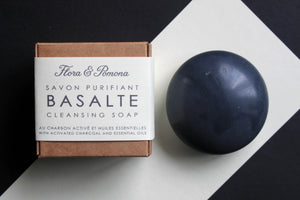 Basalt : cleansing soap stone