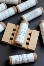Load image into Gallery viewer, Lip Balm : shea butter balm in eco friendly paper tube