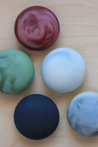 Trio of Marble Soap Stones : gift set of three soaps in individual boxes