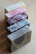 Load image into Gallery viewer, Five Artisan Soaps : gift set with five large bars of all natural soap