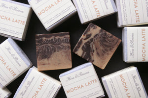 Mocha Latte : coffee soap