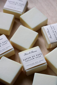Tallow Soap : lemongrass : 100% pure tallow soap