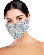 Load image into Gallery viewer, Sequin Face Mask