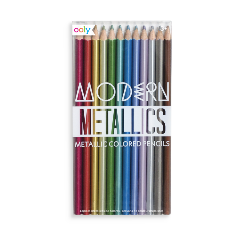 Modern Metallics Colored Pencils