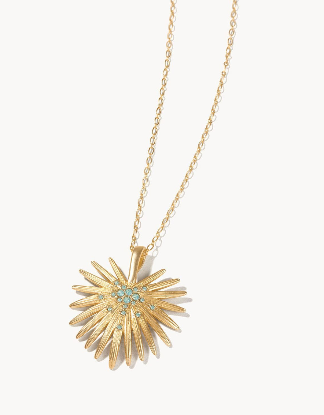 Palmetto Frond Necklace 30