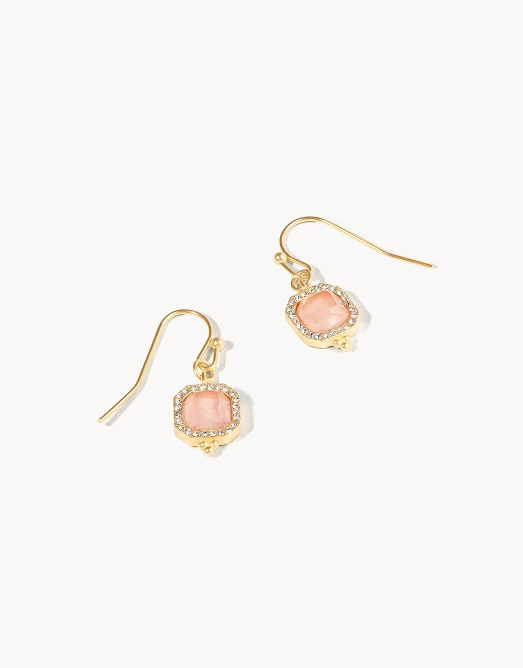 Delicate Radiant Drop Earrings