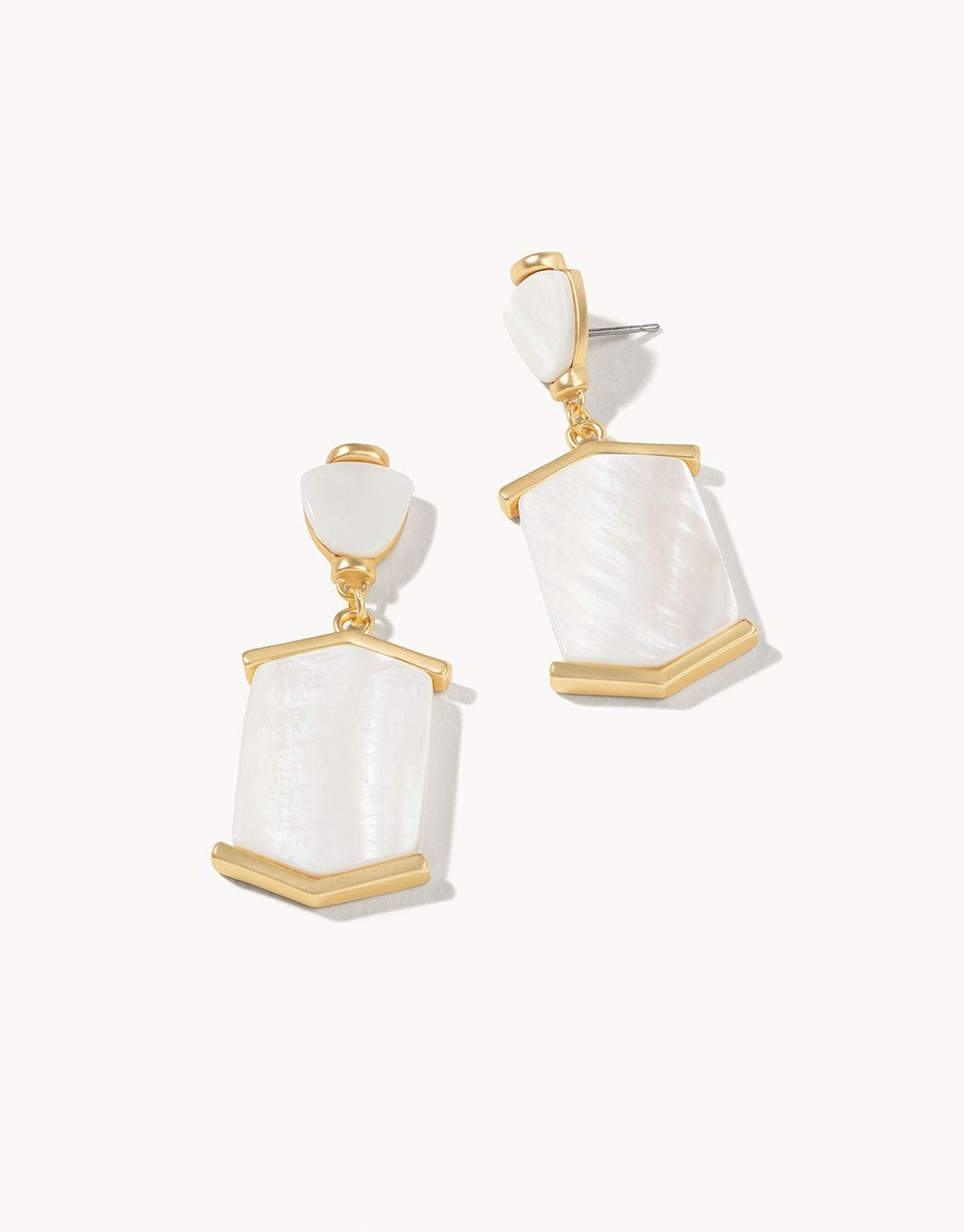 Monroe Earrings Pearlescent