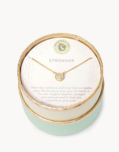 Sea La Vie Stronger Necklace