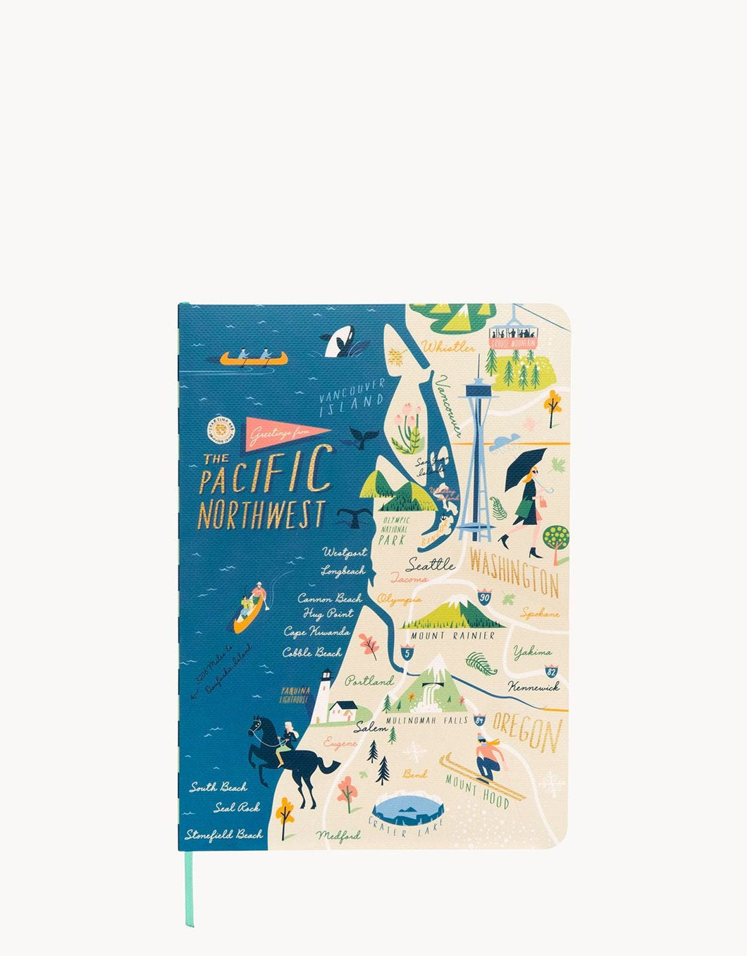 Ruled Notebook Pacific Northwest 5x7