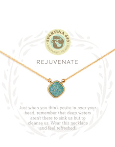 Sea La Vie Druzy Necklace