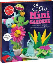 Load image into Gallery viewer, Sew Mini Gardens Kit
