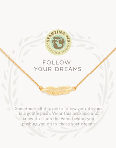 Sea La Vie Follow Your Dreams Necklace
