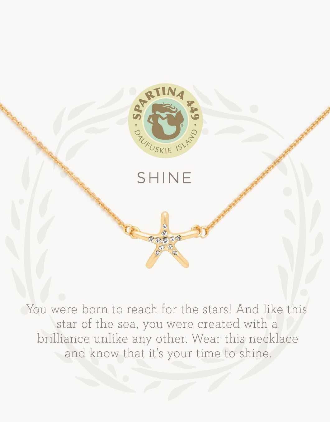 Sea La Vie Shine Starfish Necklace