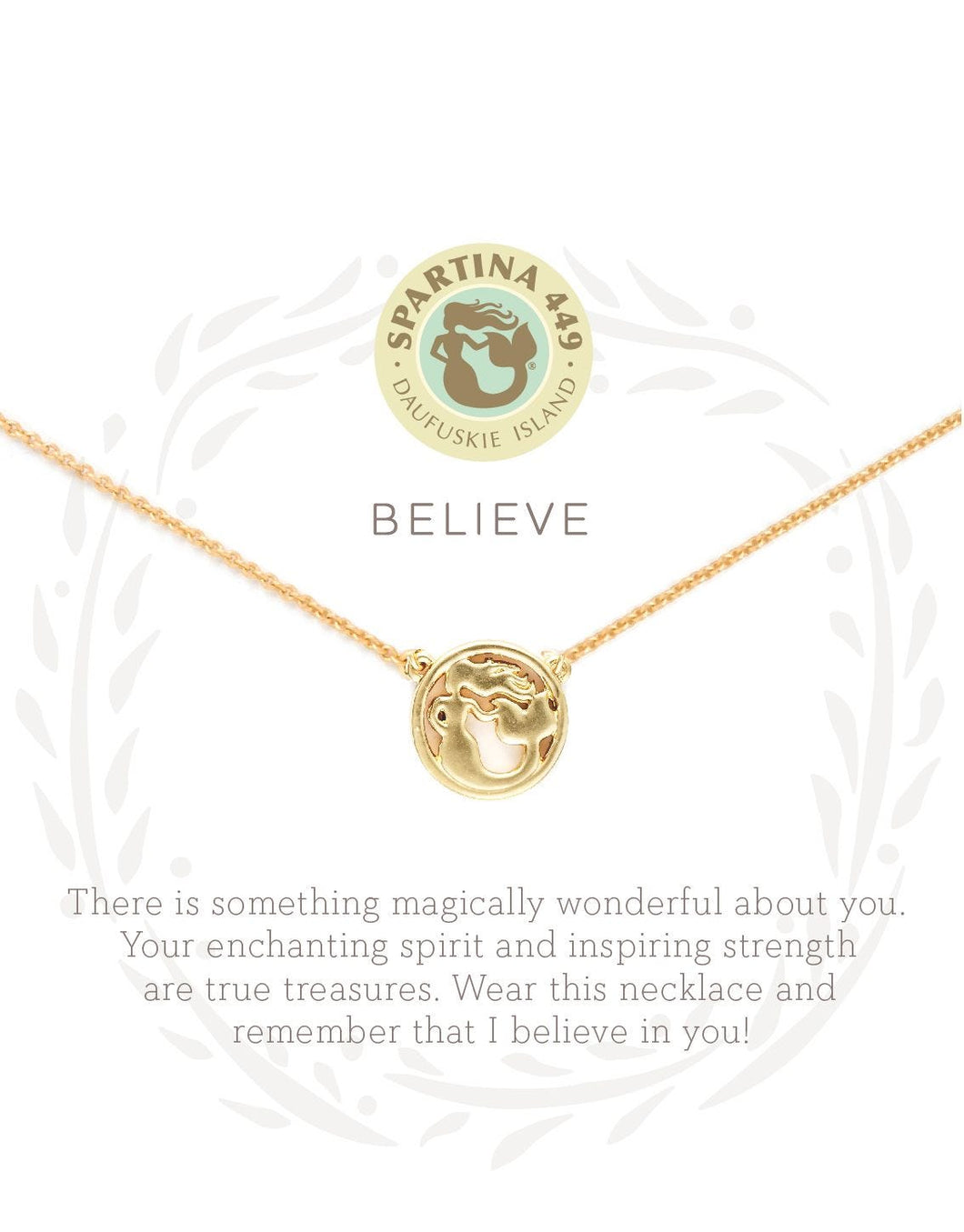 Sea La Vie Believe Necklace