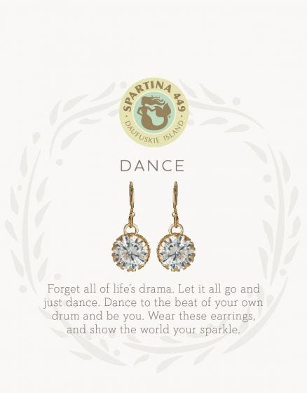 Sea La Vie Dance Drop Earrings