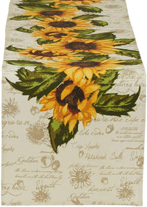 Rustic Sunflower Runner