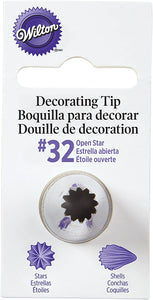 #32 Open Star Piping Tip