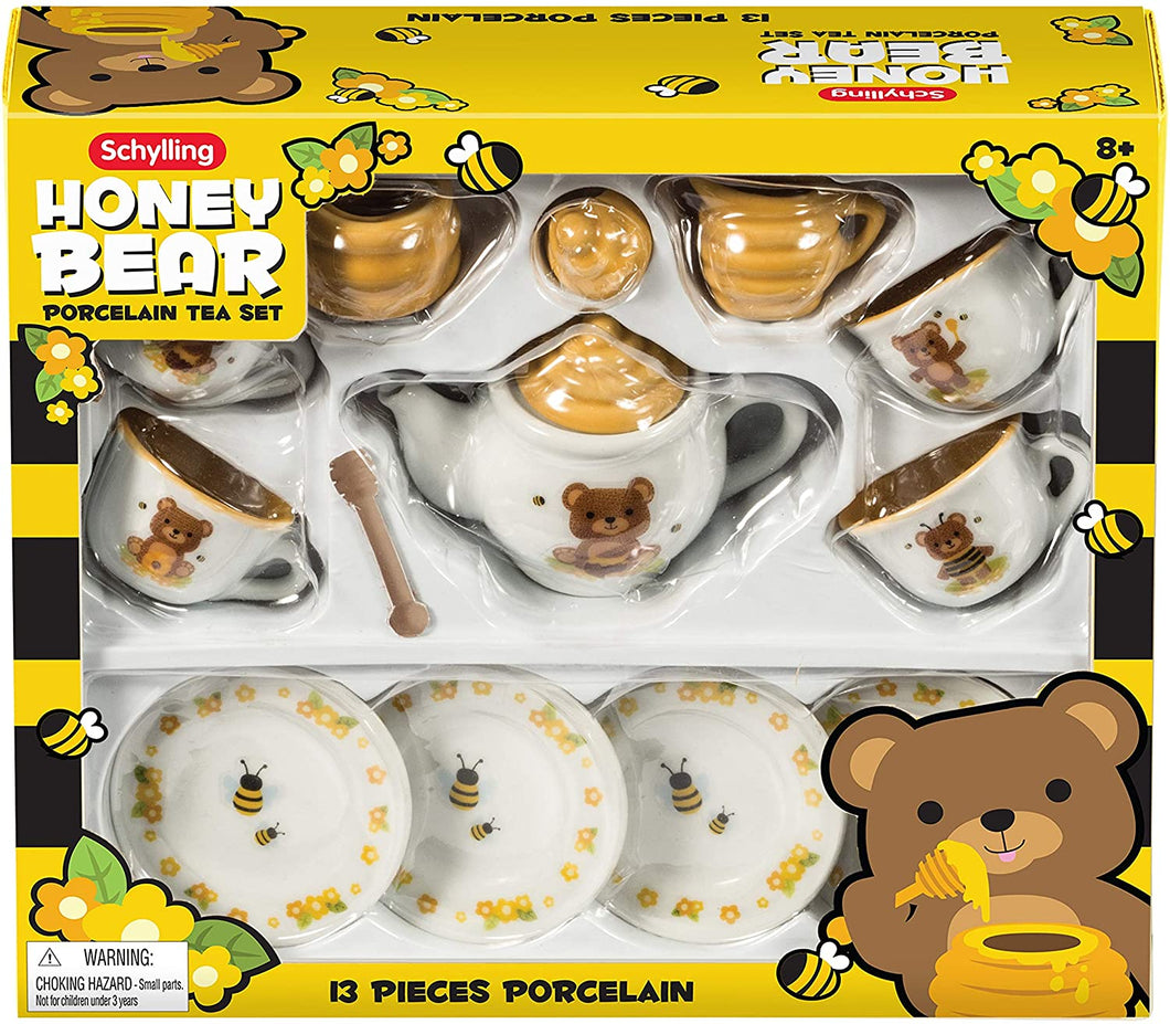 Kids Honey Bear Porcelain Tea Set