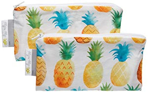 Reusable Mini Snack Bags; Set of 2