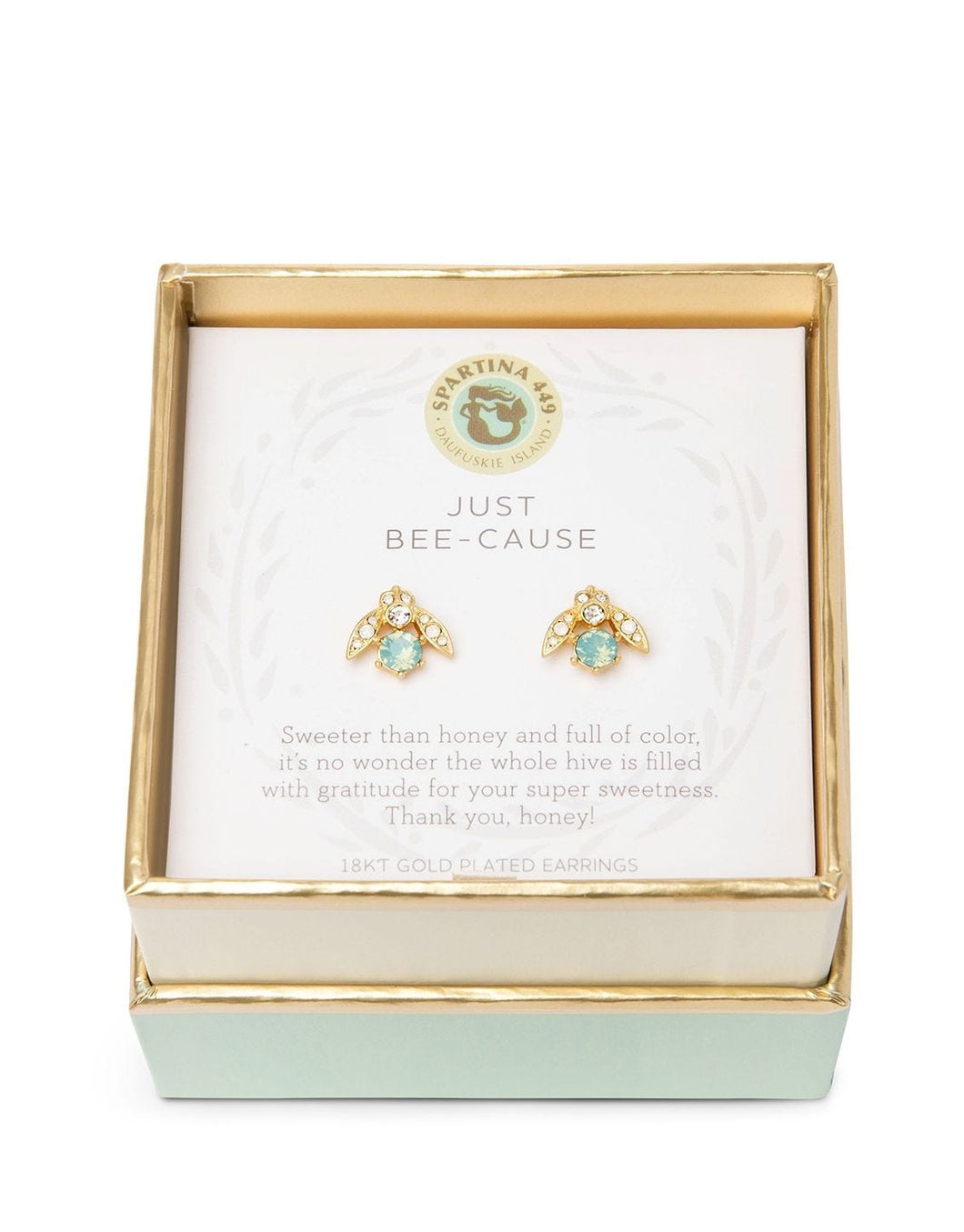 Sea La Vie Just Bee-cause Stud Earrings