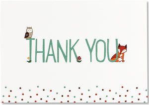 Woodland Friends Thank You Box Set