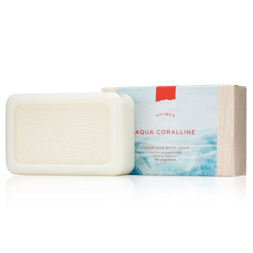The Thymes Aqua Coralline Bar Soap
