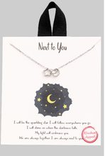 Load image into Gallery viewer, Star & Moon Charm Necklace