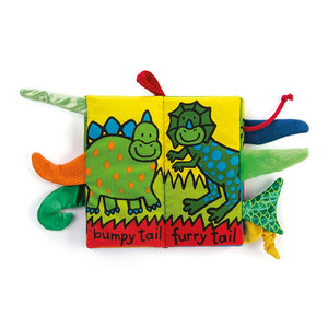 "Jellycat ""Dino Tails"" Book"