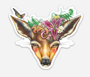 Deer Sticker by Shanna Trumbly
